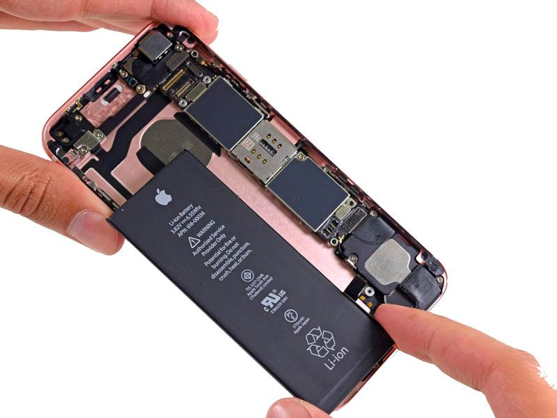 замена батареи